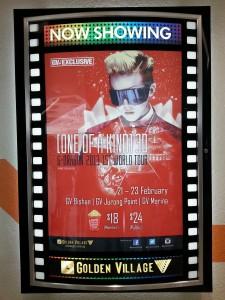 [K-happenings in Singapore]: GD One Of A Kind (OOAK) Final in Seoul 3D Movie Screening